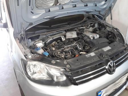 VW Caddy 1,6TDi MT 2012 Чип-тюнинг, удаление EGR, удаление DPF