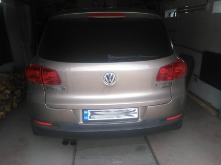 VW Tiguan 2,0 TDi AT 2012 Чип-тюнинг, удаление EGR, удаление DPF.