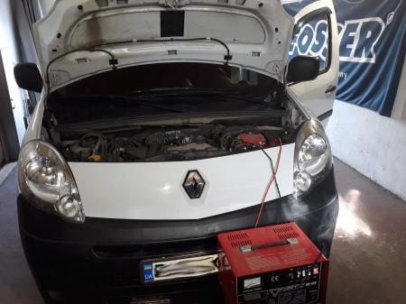 Renault Kengoo 1,5 DCi MT 2013 Чип-тюнинг, удаление сажевого фильтра, удаление EGR