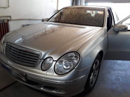 Mercedes E211 2,7D AT 2002 г.в. Выполнен чип-тюнинг, программное удаление системы EGR.