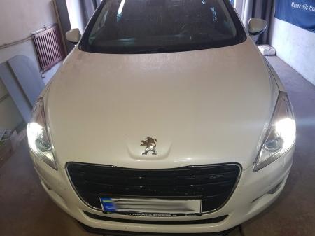 Peugeot 508 2,2 HDi 2011 г.в. Выполнен чип-тюнинг, программное удаление системы EGR, программное удаление системы сажевого фильтра .