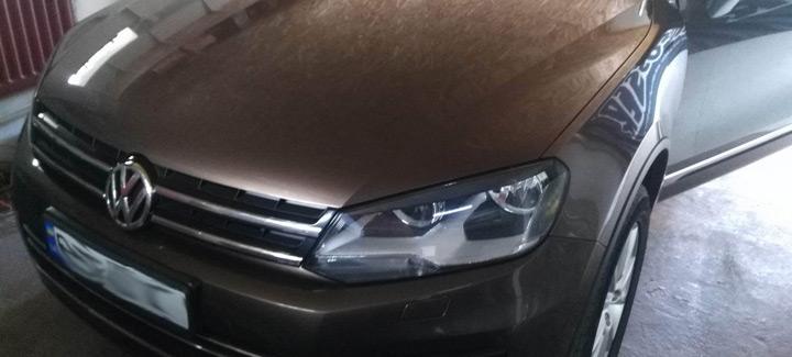 VW Touareg 3,0 TDi AT 2012 Чип-тюнинг, удаление EGR, удаление DPF.