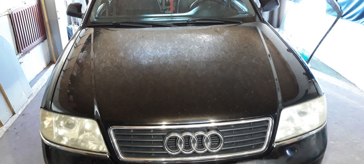 Audi A4 2,4 MT 2001 Чип-тюнинг Eвро2