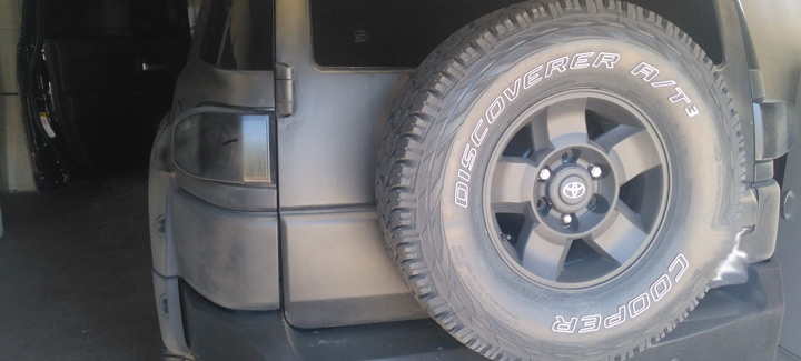 Toyota FJ Cruiser 4,0 AT Выполнен чип-тюнинг, перевод на нормы Евро2.
