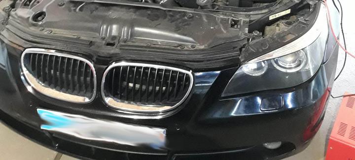 BMW E60 3,0D AT 2004 г.в. Чип-тюнинг, отключение систем EGR и сажевого фильтра