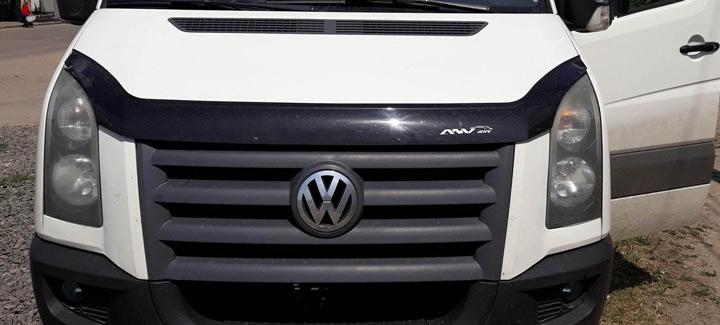 VW Crafter 2,5 МТ 2009 г.в. Чип-тюнинг, отключение лямбда-зонда и системы EGR