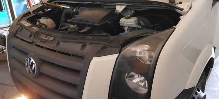 VW Crafter 2,5TDi MT 2011 г.в. Чип-тюнинг, отключение системы EGR, сажевого фильтра, вихревых заслонок, лямбда-зонда