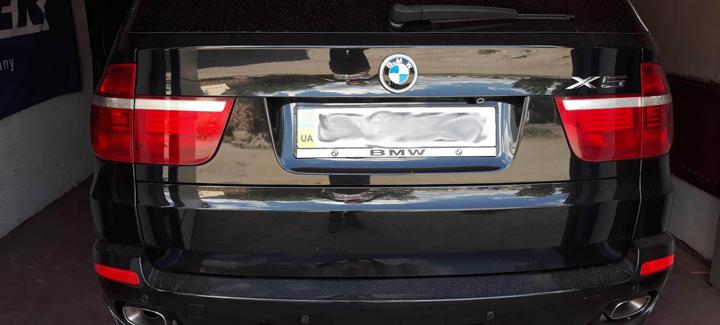 BMW X5 в кузове E70 с двигателем 4,8л и АКПП 2008 г.в. Чип-тюнинг, перевод на нормы Евро 2