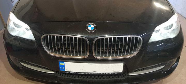 BMW 5 F10 2,0D AT 2011 Чип-тюнинг, отключение системы EGR и сажевого фильтра