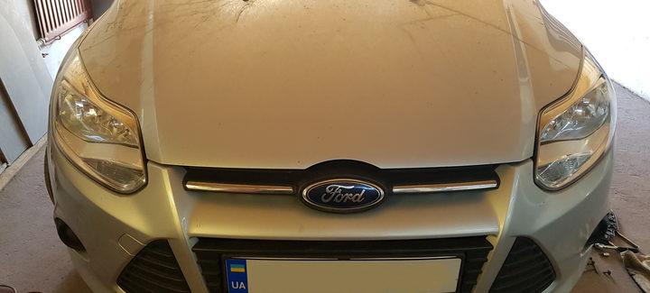 Ford Focus 1,6D MT 2012 Чип-тюнинг, отключение системы EGR и сажевого фильтра