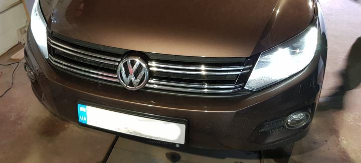 VW Tiguan 2,0 TDi AT 2012 Чип-тюнинг, отключение системы EGR и сажевого фильтра