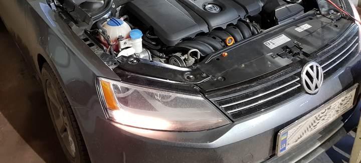 VW Jetta 2,5 AT 2011 USA Чип-тюнинг под ГБО, перевод на нормы Евро 2, отключение системы вторичного воздуха