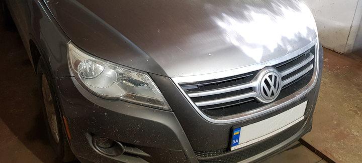 VW Tiguan 2,0TFSI AT 2010 USA - Чип-тюнинг, перевод на нормы Евро2, отключение системы вихревых заслонок