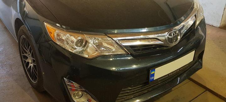 Toyota Camry 50USA 2,5AT 2014 - Чип-тюнинг, перевод на нормы Евро2
