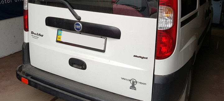 Fiat Doblo 1,3 MJet MT 2006 - Чип-тюнинг, отключение системы EGR