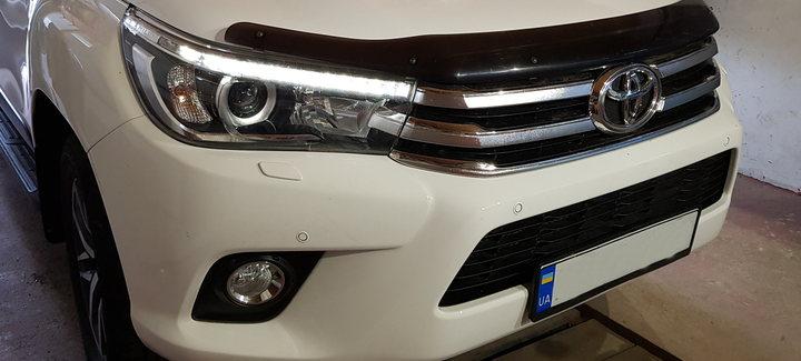Toyota Hilux 2,8D AT 2016 - Чип-тюнинг, отключение системы сажевого фильтра, системы EGR