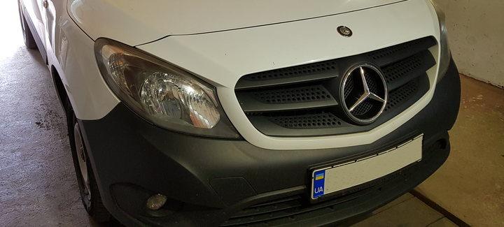 Mercedes Citan 1,5DCi MT 2013 - Чип-тюнинг, отключение системы сажевого фильтра, системы EGR